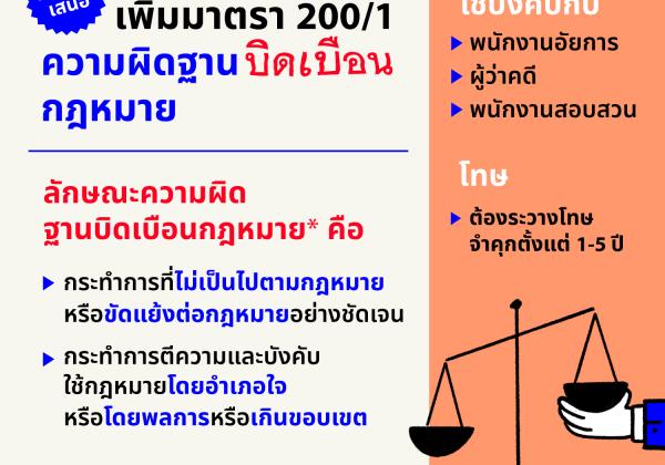 Criminal Code Amendment : Judicial perversion of justice